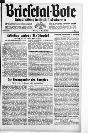 Briesetal-Bote on Aug 24, 1942