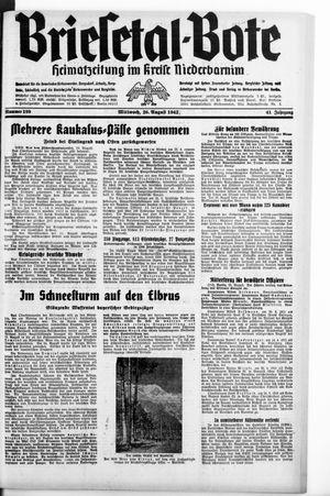 Briesetal-Bote vom 26.08.1942