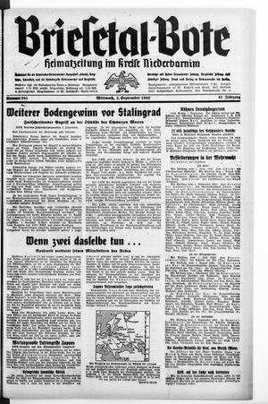 Briesetal-Bote vom 02.09.1942
