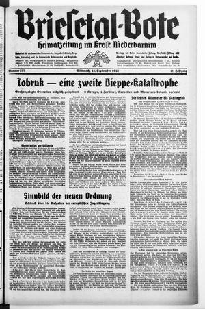 Briesetal-Bote on Sep 16, 1942