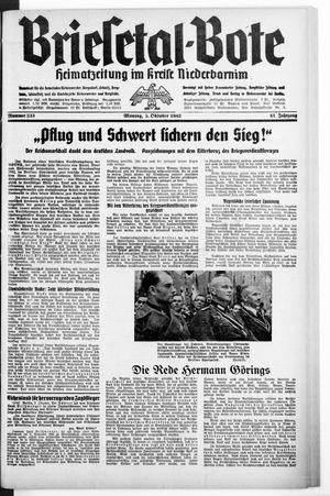 Briesetal-Bote vom 05.10.1942