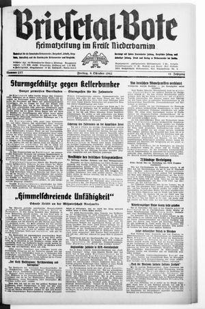 Briesetal-Bote vom 09.10.1942