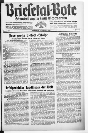 Briesetal-Bote vom 10.10.1942