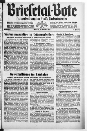 Briesetal-Bote on Oct 21, 1942