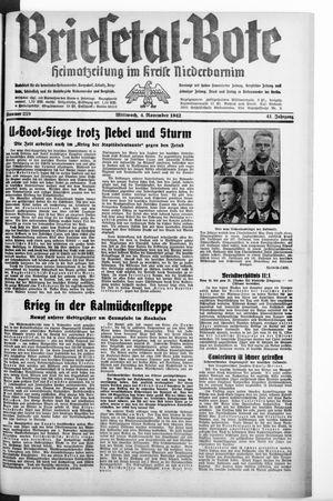 Briesetal-Bote vom 04.11.1942