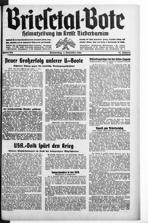 Briesetal-Bote on Nov 5, 1942