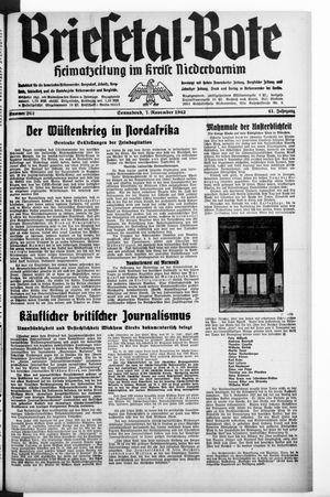 Briesetal-Bote vom 07.11.1942