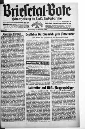Briesetal-Bote vom 12.11.1942