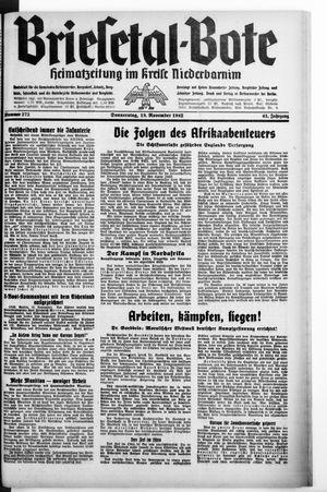 Briesetal-Bote vom 19.11.1942
