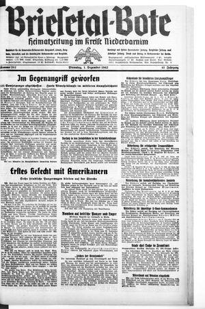 Briesetal-Bote vom 01.12.1942