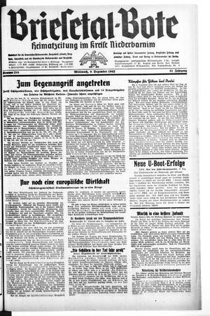 Briesetal-Bote vom 09.12.1942