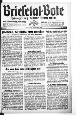 Briesetal-Bote vom 10.12.1942