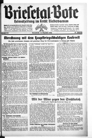 Briesetal-Bote vom 12.12.1942
