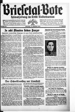 Briesetal-Bote vom 15.12.1942