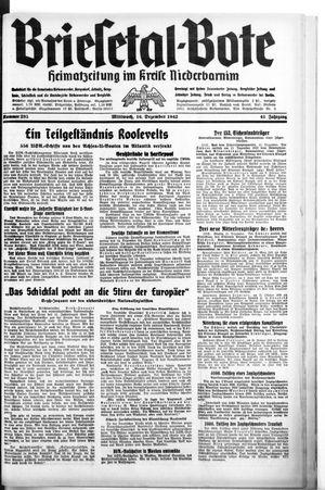 Briesetal-Bote vom 16.12.1942