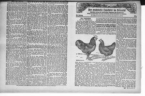 ˜Derœ praktische Landwirt im Briesetal vom 29.04.1926