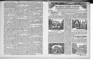 ˜Derœ praktische Landwirt im Briesetal vom 20.05.1926