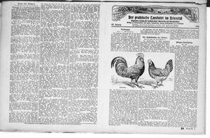 ˜Derœ praktische Landwirt im Briesetal vom 17.07.1926