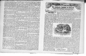 ˜Derœ praktische Landwirt im Briesetal vom 14.08.1926