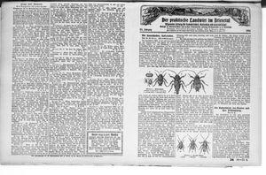 ˜Derœ praktische Landwirt im Briesetal vom 21.08.1926