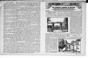 ˜Derœ praktische Landwirt im Briesetal vom 25.09.1926