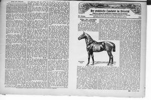 ˜Derœ praktische Landwirt im Briesetal vom 16.10.1926