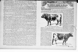 ˜Derœ praktische Landwirt im Briesetal vom 04.12.1926