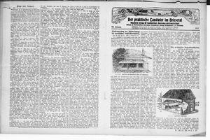 ˜Derœ praktische Landwirt im Briesetal vom 04.01.1927