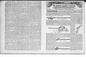 ˜Derœ praktische Landwirt im Briesetal vom 30.04.1927