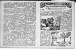 ˜Derœ praktische Landwirt im Briesetal on May 28, 1927