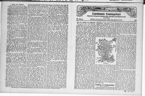 ˜Derœ praktische Landwirt im Briesetal vom 23.07.1927