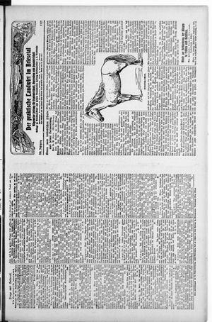 ˜Derœ praktische Landwirt im Briesetal on Aug 6, 1927