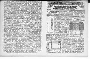 ˜Derœ praktische Landwirt im Briesetal vom 03.09.1927