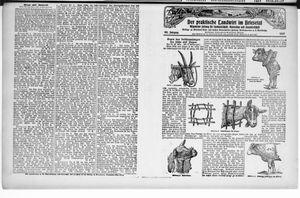 ˜Derœ praktische Landwirt im Briesetal vom 27.10.1927