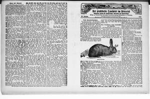 ˜Derœ praktische Landwirt im Briesetal vom 10.11.1927