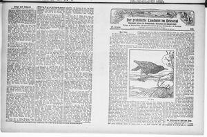 ˜Derœ praktische Landwirt im Briesetal vom 16.02.1928