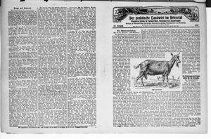 ˜Derœ praktische Landwirt im Briesetal vom 24.05.1928