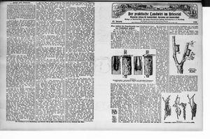 ˜Derœ praktische Landwirt im Briesetal vom 25.10.1928