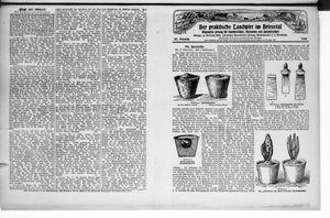 ˜Derœ praktische Landwirt im Briesetal vom 21.11.1928
