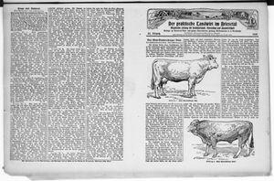 ˜Derœ praktische Landwirt im Briesetal vom 20.12.1928