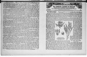˜Derœ praktische Landwirt im Briesetal vom 25.04.1929