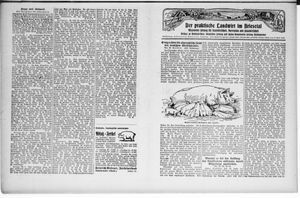 ˜Derœ praktische Landwirt im Briesetal vom 18.07.1929