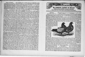 ˜Derœ praktische Landwirt im Briesetal vom 24.07.1930