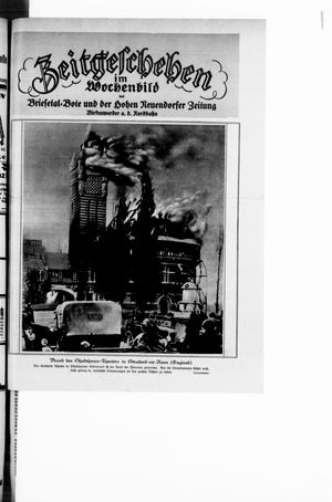 Zeitgeschehen im Wochenbild vom 21.03.1926