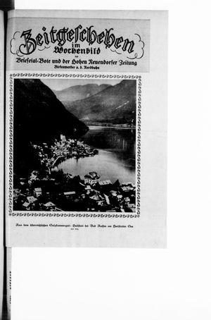Zeitgeschehen im Wochenbild vom 28.03.1926
