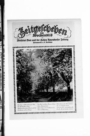 Zeitgeschehen im Wochenbild vom 25.04.1926