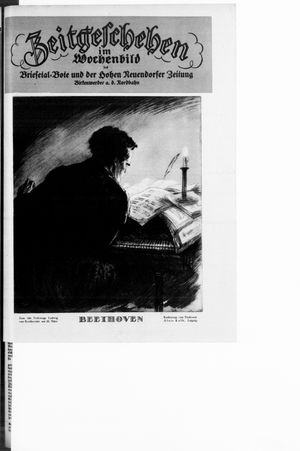 Zeitgeschehen im Wochenbild vom 20.03.1927