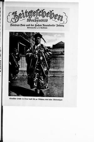 Zeitgeschehen im Wochenbild vom 29.01.1928