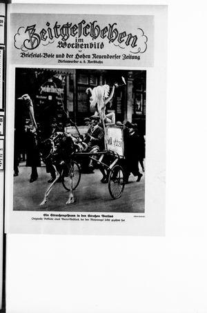 Zeitgeschehen im Wochenbild vom 19.02.1928