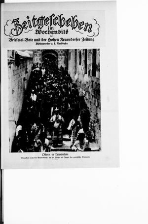 Zeitgeschehen im Wochenbild on Apr 8, 1928